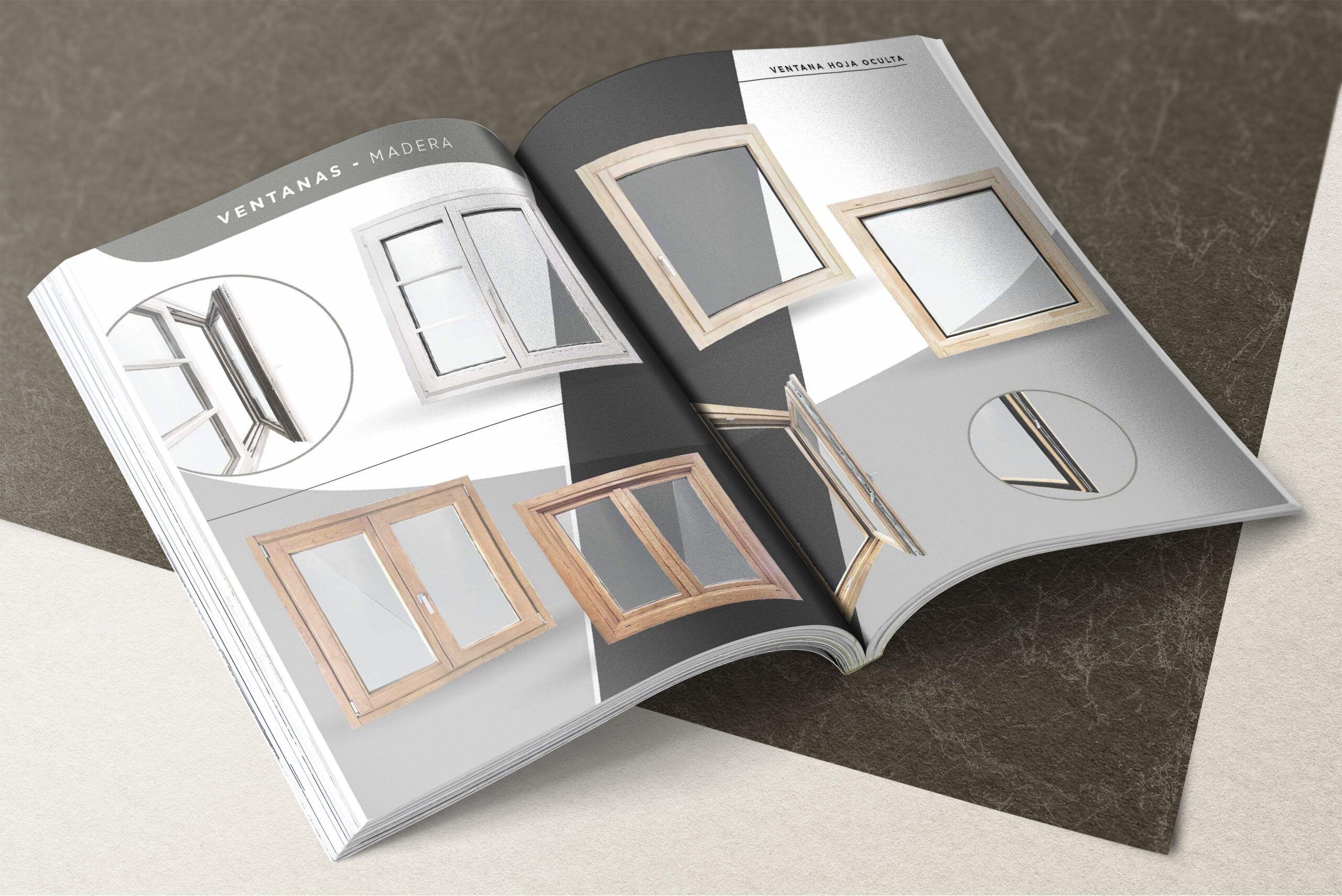 Catálogo de ventanas Vencomad