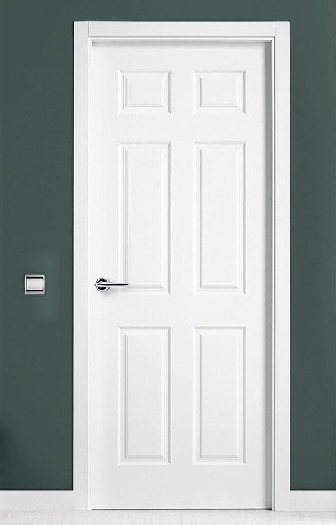 Puerta pared verde